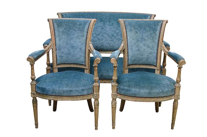 Комплект мебели Людовика XVI под заказ